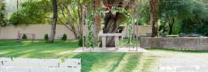 Secret Garden by Wedgewood Weddings, Arizona Wedding Venue