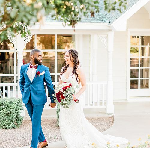 Lindsay Grove by Wedgewood Weddings Bride and Groom Walking
