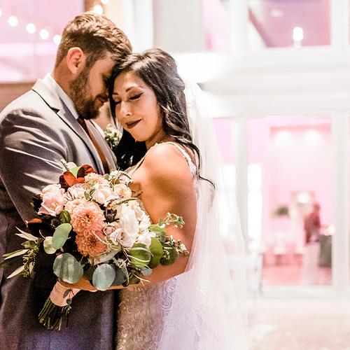 Colby Falls by Wedgewood Weddings - Wedding Night Couple Hugging